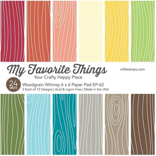 MFT Paper Pack - Woodgrain Whimsy
