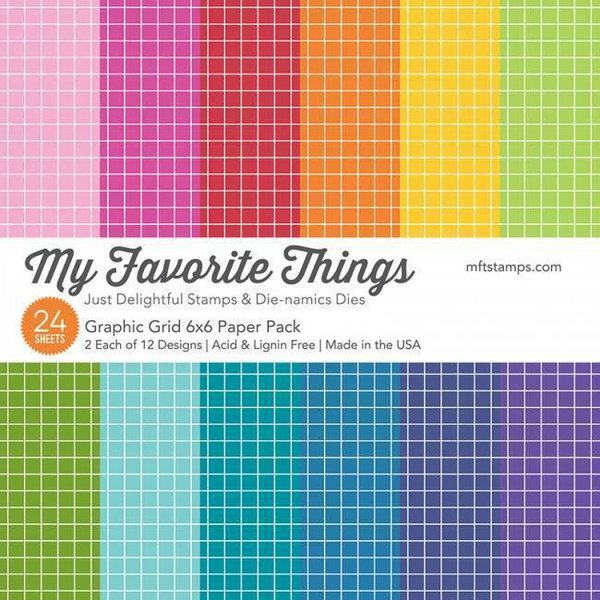 MFT Paper Pack - Graphic Grid
