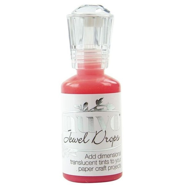 NUVO Drops - Strawberry Coulis - transparent