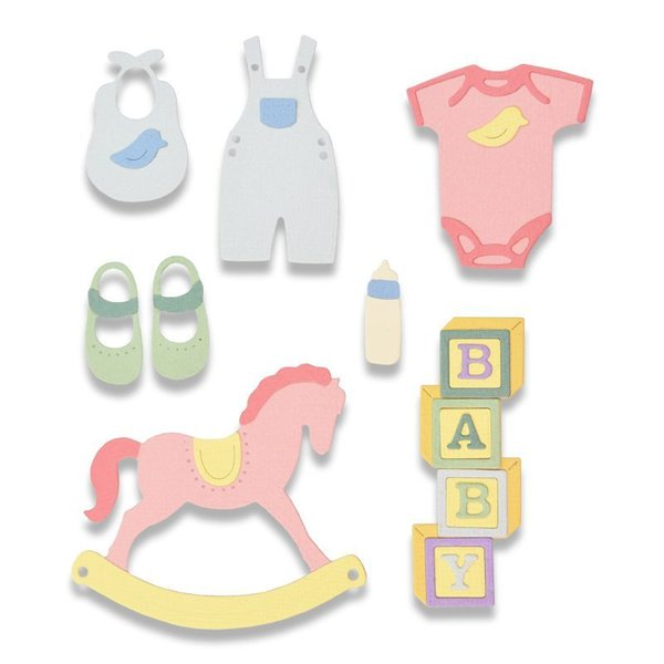 Sizzix Thinlits Stanzschablonen - Neues Baby #2
