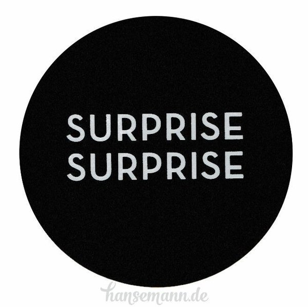 Runde Sticker - SURPRISE (16 Stück)