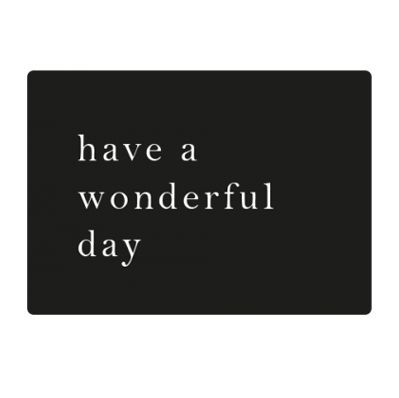 Sticker - Have a wonderful Day (18 Stück)
