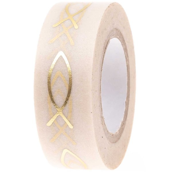 Washi Tape - Fische Goldfoil