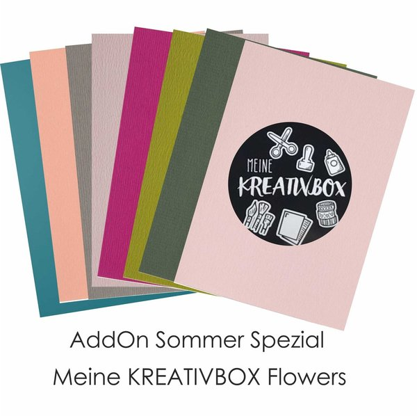 "A4 Paper Pack - Meine Kreativbox - Sommer Spezial ""Flowers"""
