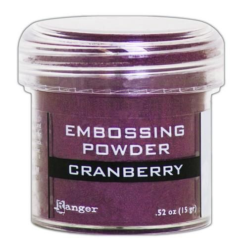 Ranger Embossing Powder - Cranberry
