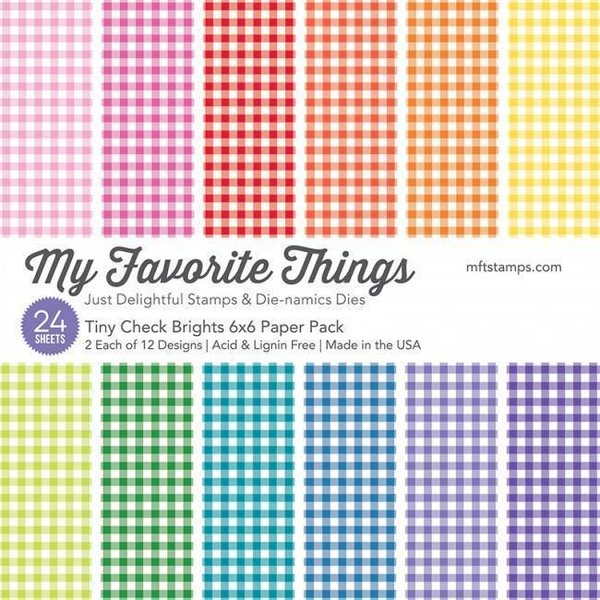 MFT Paper Pack - Tiny Check Brights