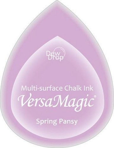 VersaMagic Chalk Dew Drop -  Spring Pansy