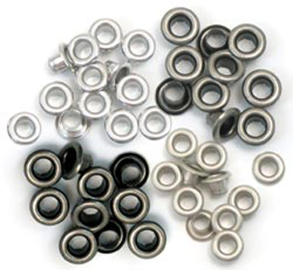 We R Memory Keepers Eyelets Standart Cool Metal