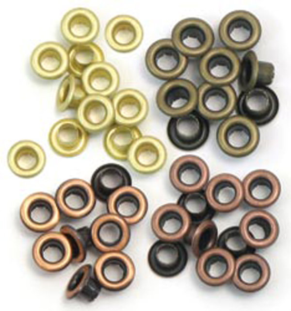 We R Memory Keepers Eyelets Standart Warm Metal