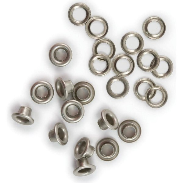 We R Memory Keepers Eyelets & Washer Standart - SIlber